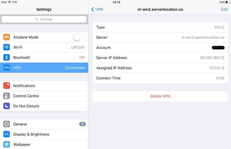 Full VPN Setup for iOS : IKEv2 Protocol – Getflix Knowledge Base