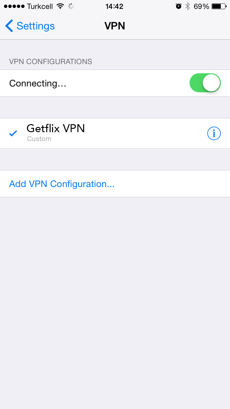 Full VPN Setup For iOS : PPTP Protocol – Getflix Knowledge Base
